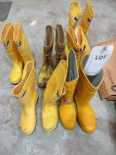 Six pairs of Respirex Workmaster Specialist Dielectric Protective Footwear (used)