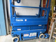 Genie GS-1930 227kg scissor lift Serial No. G530-52624 (not in working order) suitable for spares