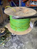 Reel of 16mm earthing cable * This lot is located at Unit 15, Horizon Business Centre, Alder