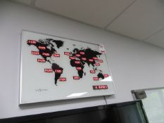 Next Time World Time Digital Clock * This lot is located at Unit 15, Horizon Business Centre,