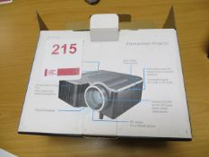 LED HD Projector LCD Image System (Boxed)* This lot is located at Unit 15, Horizon Business