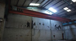Rileys - Bury, 7.5 tonne twin beam Overhead Gantry