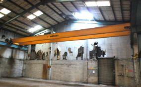 Demag, 7.5 tonne twin beam Overhead Gantry Crane,