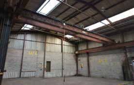 Clayton Crane and Hoist Ltd, 5 tonne, twin beam Ov