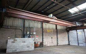 Landsmith Crane and Hoist Co, 5 tonne, twin beam O