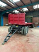 Heavy Duty (40T) Tandem Axle Trailer (Dolly Excluded)