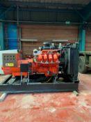 Scania/ Newage 500KVA Diesel Generator