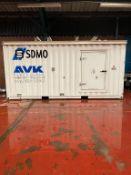 MTU 1000KVA Containerised Diesel Generator