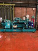MTU 1000KVA Skid Mounted Diesel Generator