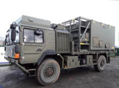 Man HX60 4x4 Flatbed Winch Truck (Ex MOD)