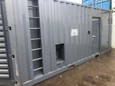 Unused 20FT Generator Acoustic Housing