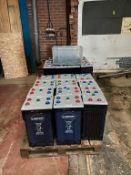 52x Hoppecke HPPL Power Station Batteries