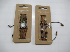 A box of Hippie Chic 'Boho Bracelet' watches