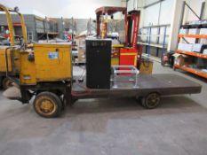 Hyster MU4H 4.0 tonne ride-on trolley