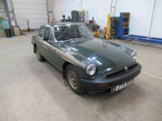 50th Anniversary Edition MG B GT - first registered 1975