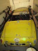 Triumph 1959 TR3A Non Runner. Reg 161 PO. C/W V5