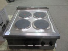 iParry stainless steel hob (electric)
