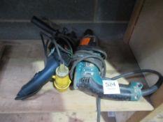 2 x 110V drills (1 x Makita)