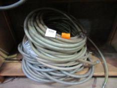 Qty of reinforced hosing