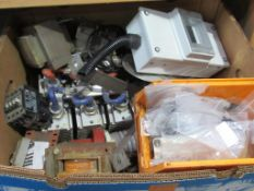 Box of electrical components