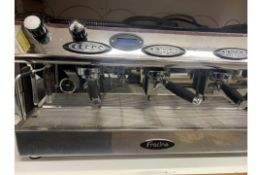 A used Fracino 3 Group commercial coffee machine