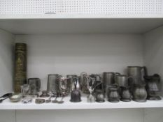 Selection of assorted Metalware