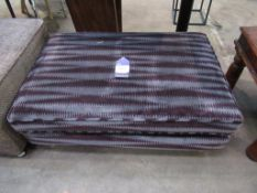 Ex - Wayfair Patterned upholstered footstool