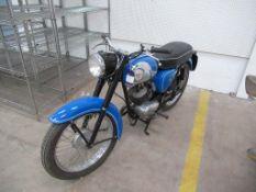 A BSA Bantam D7 Motorcycle