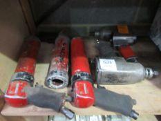 Box of pnumatic tools