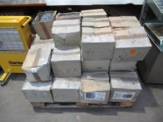 Pallet of Barbed Galvanized wire, 4 Pointed type '10WA'