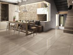 8.64m2 Bloomsbury Matte Lunar Rock Wall and Floor Tiles.300x600mm per tile, 8.3mm thick The varying