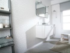 7 Square Meters of Porcelanosa Minidual Blanco Wall tiles. 20x33.3cm per tile. 1m2 per pack. A