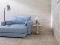 9.9 Square Meters of Porcelanosa Old Natural Wall and Floor Textured Tiles. 33.3x59.2cm per tile.