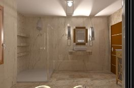 8.76m2 Imola Beige Wall and Floor Tiles. 605x605mm per tile, 10mm thick. This tile has a shiny