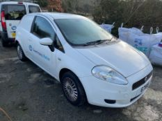 2008 Fiat Punto Car Derived Van