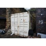 Steel shipping/storage container 20ft x 8ft (Delay