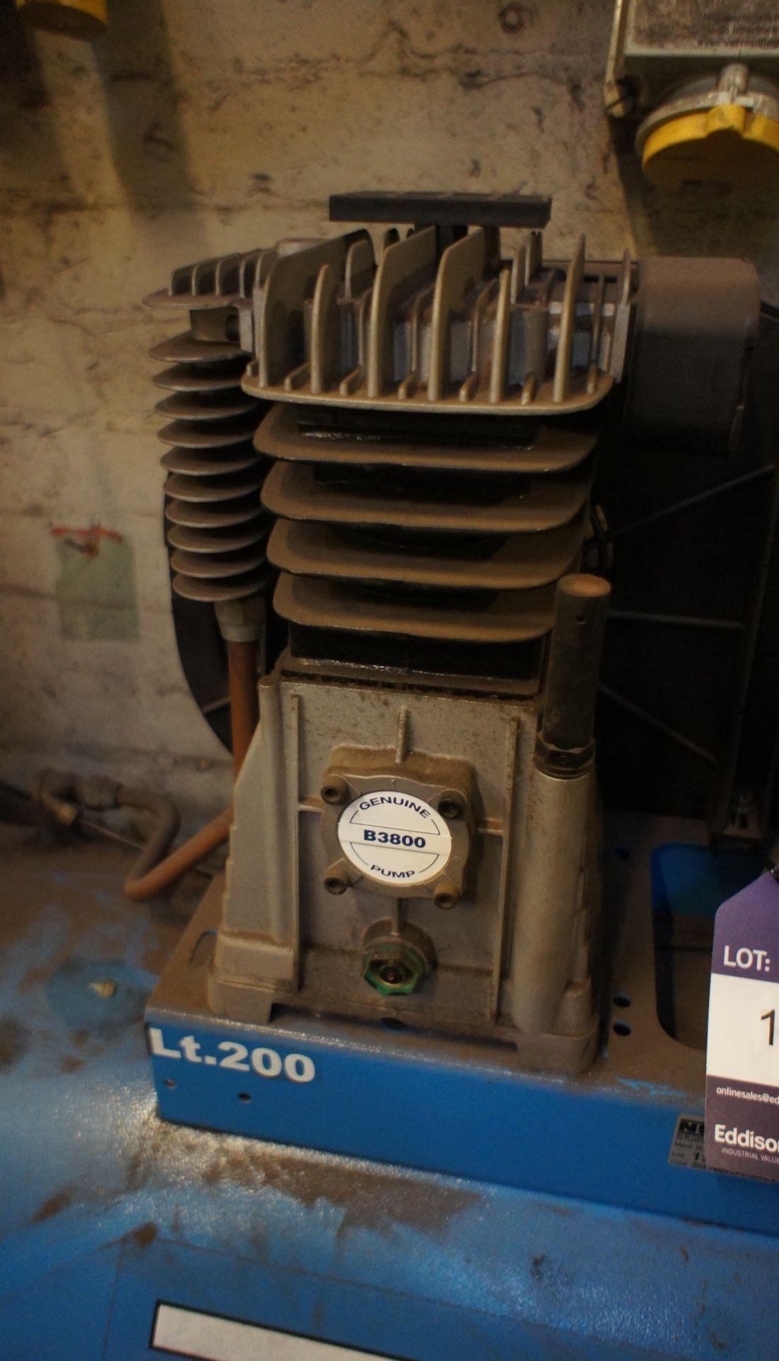Nuair HP3 Receiver mounted Workshop Compressor, 20 - Image 4 of 4