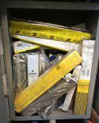 Quantity of Welding Rods including Esab, Murex etc