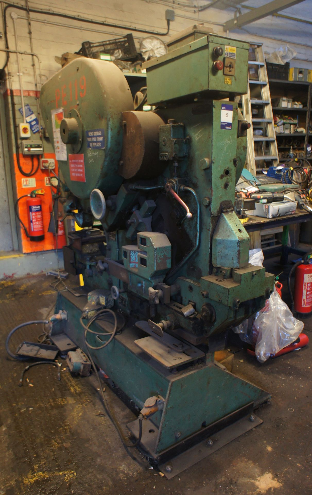 Peddinghaus 210/16 Metalworker, 60T, 415v - Image 3 of 5