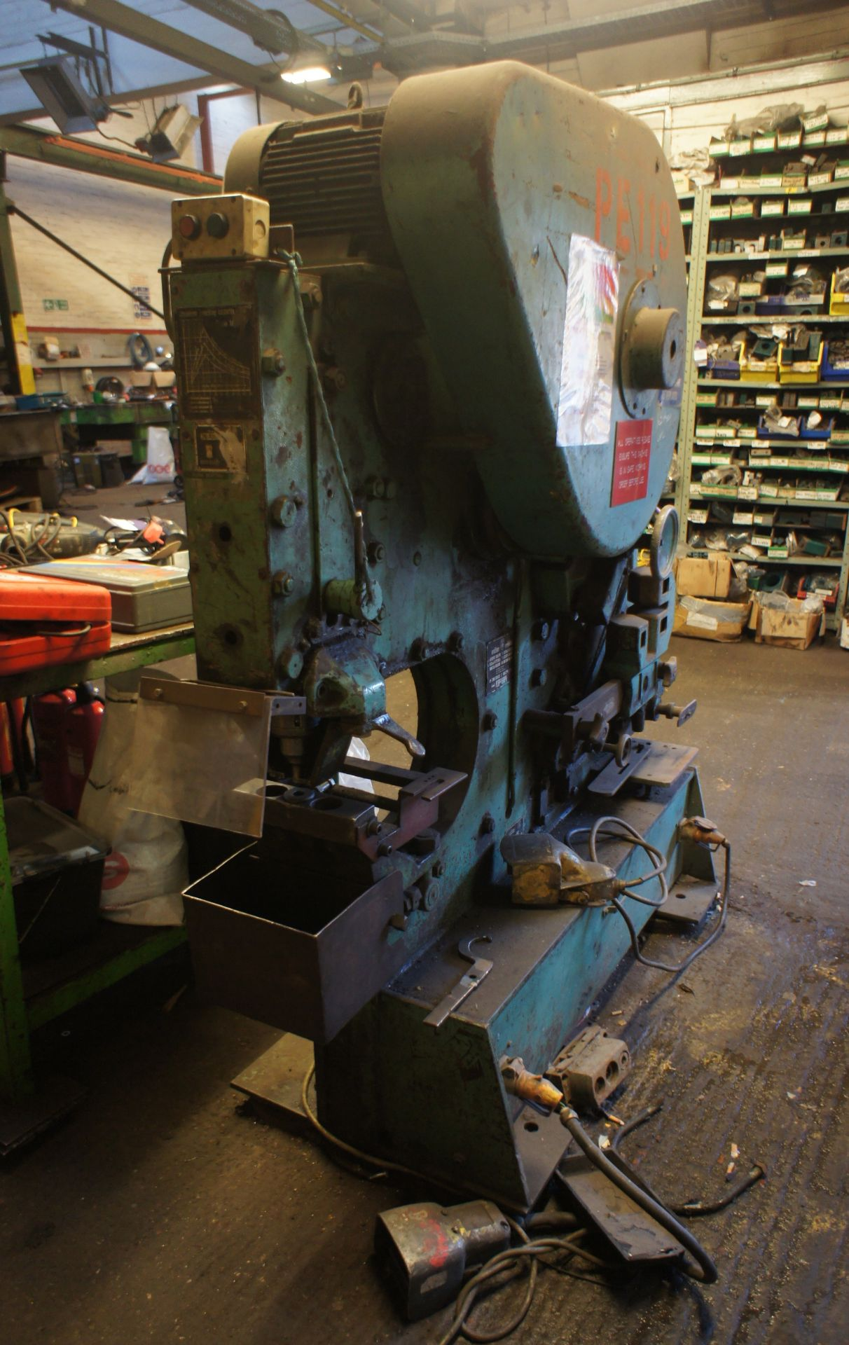 Peddinghaus 210/16 Metalworker, 60T, 415v