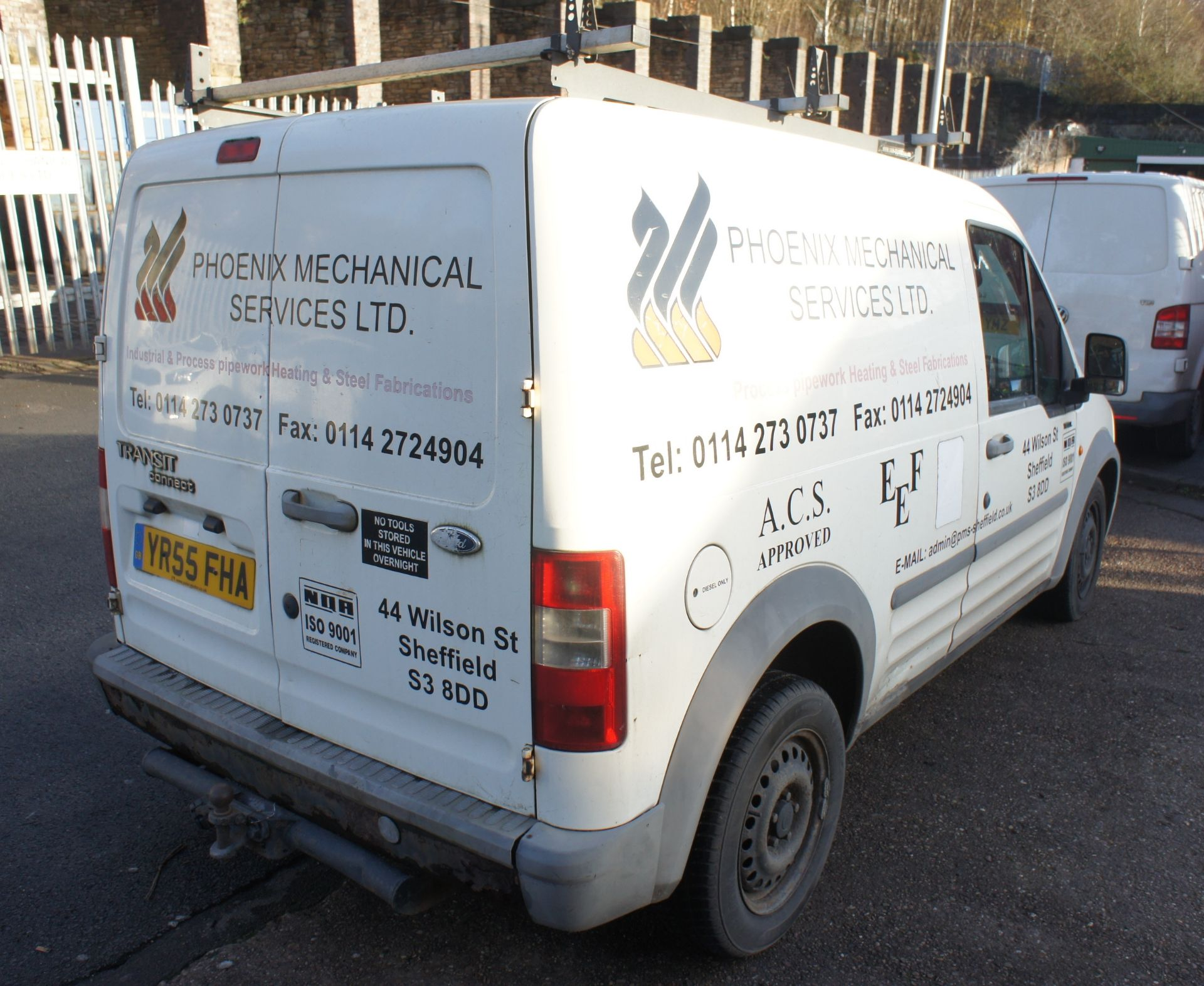 Ford Transit Connect 200 SWB low roof Van, diesel, - Image 4 of 10