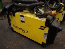 ESAB P150 Carryvac Portable Fume Extractor, 110v