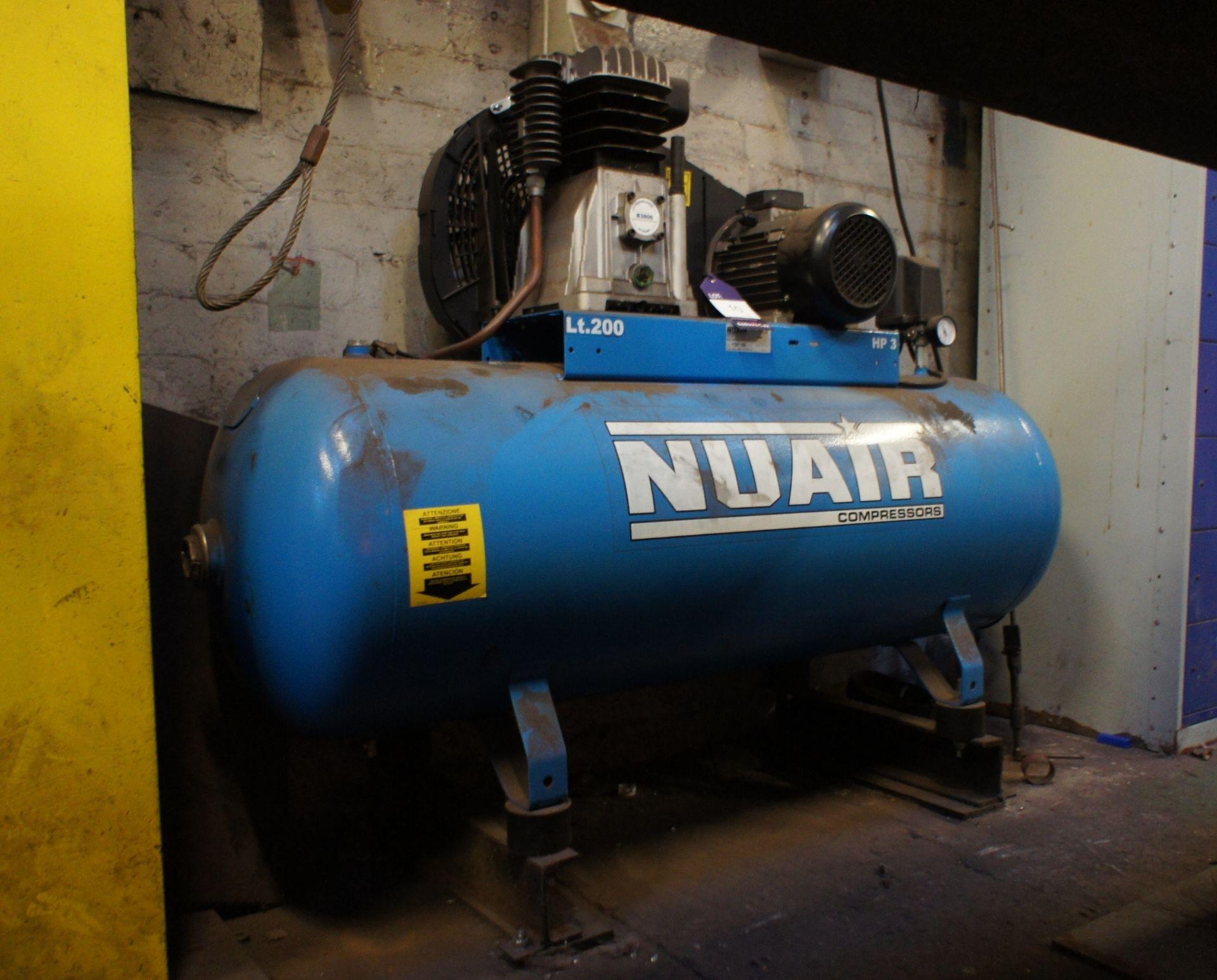 Nuair HP3 Receiver mounted Workshop Compressor, 20