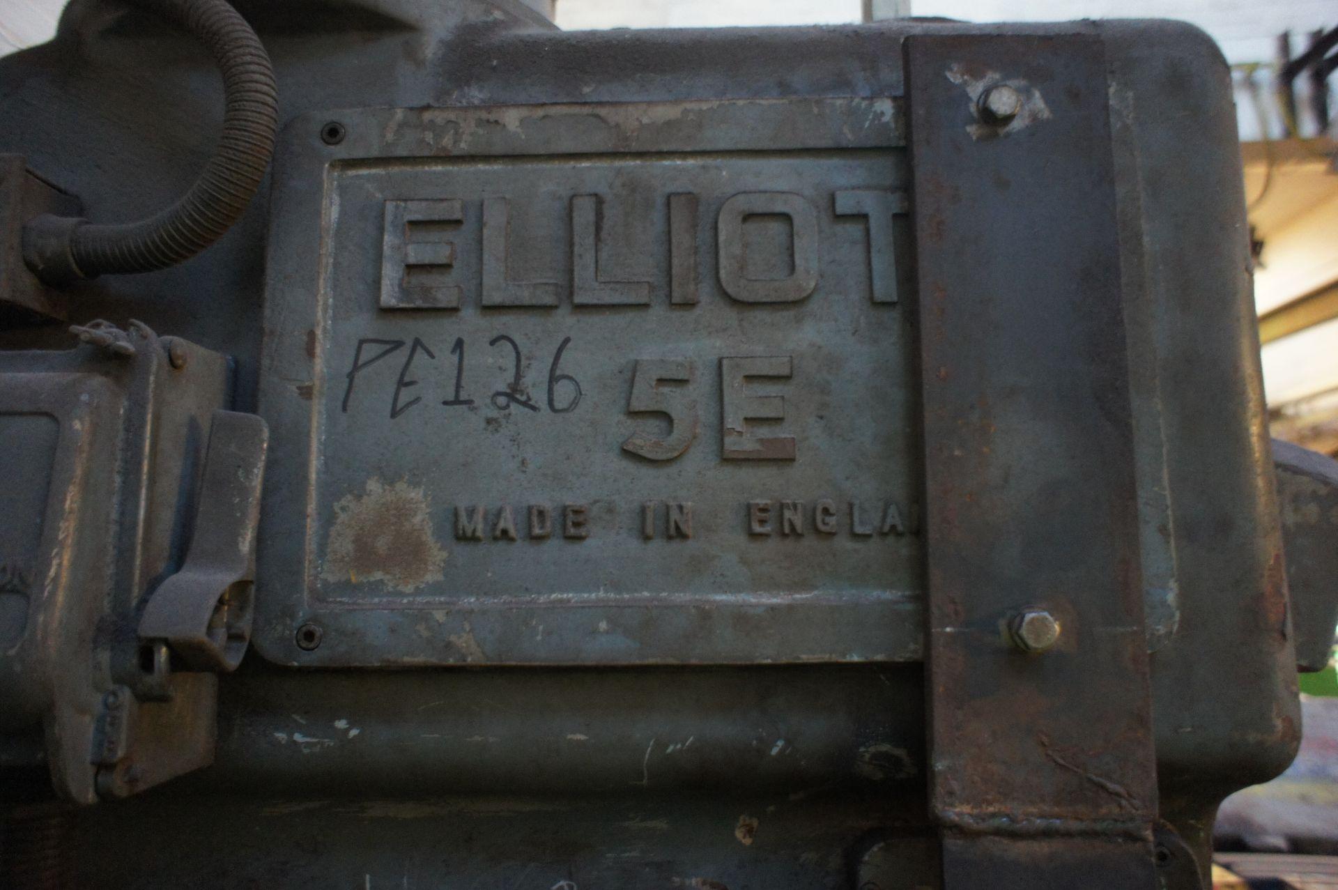Elliot 5E Heavy Duty Pillar Drill, 415v - Image 4 of 6