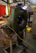 George Fischer RAE6 Pipe Cutting/Bevelling Machine