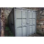 Containerised site office 20ft x 8ft, comprising o