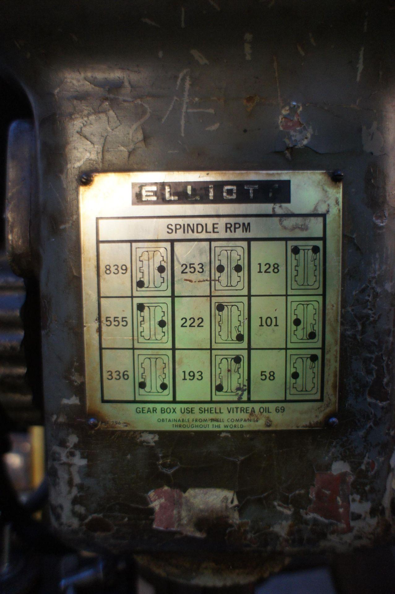 Elliot 5E Heavy Duty Pillar Drill, 415v - Image 6 of 6