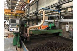Zinser CNC4020 Plasma Cutting Machine