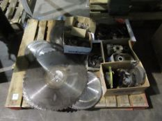 Mixed pallet of tooling