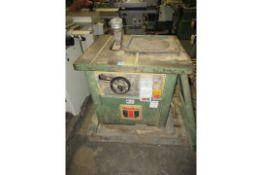 Wadkin AGS 250 Bench Saw